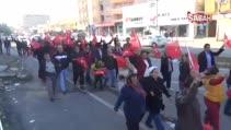 Suudi Arabistan'daki idamların durdurulması için yürüdüler