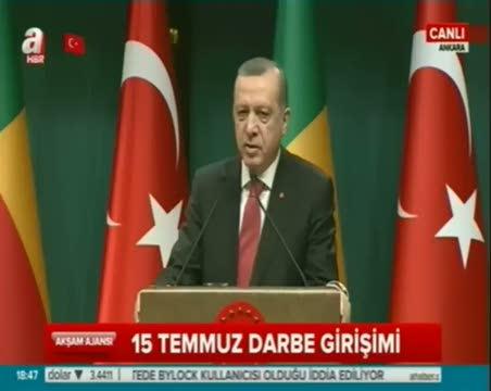 Cumhurbaşkanı Erdoğan, Benin Cumhurbaşkanı Talon ile ortak açıklama yaptı