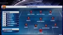 Barcelona:4 –  M'gladbach:0  Maç özeti - Arda Turan 3 gol attı!