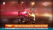 Kiev'de Beşiktaşlı taraftarlara saldırı