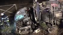 Bursa'da kamyonla kamyonet çarpıştı: 4 ölü, 1 yaralı