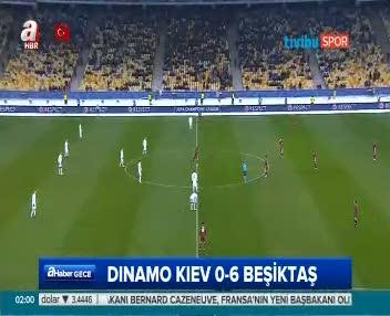 Dinamo Kiev: 6 Beşiktaş: 0 ÖZET - Maç özeti ve golleri geniş özet