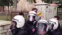 HDP'li Hüda Kaya ve oğul Cihad'ın iğrenç provokasyonu