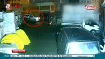 Hırsızların polisin gözü önünde kaçışı kamerada