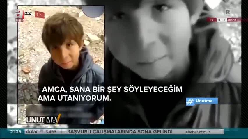 Suriyeli çocuğun duygulandıran o sözleri