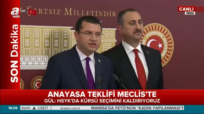 Mehmet Parsak''Anayasamız bir Türk Anayasasıdır''