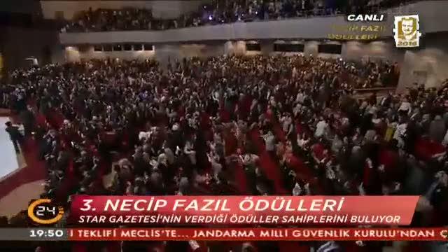 Erdoğan'a muhteşem karşılama