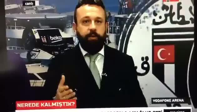Vodafone Arena yakınlarındaki patlama, BJK TV canlı yayınına böyle yansıdı!