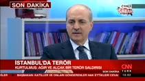 """Numan Kurtulmuş: """"oklar PKK'yı gösteriyor"""""""