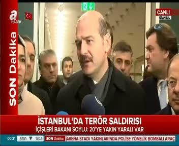 İçişleri Bakanı Süleyman Soylu'dan patlamaya ilişkin açıklama