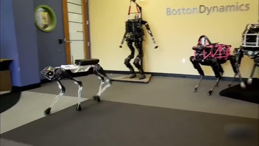 SpotMini isimli robotun özellikleri şaşırtıyor