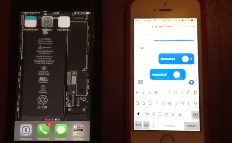 iPhone bozan yeni SMS telefon mesajı keşfedildi!