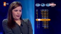 Kim Milyoner Olmak İster'de yarışmacı soruyu bilemeyince küfretti!