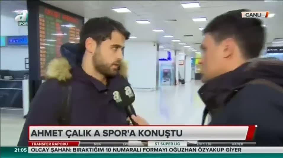Galatasaray'ın yeni transferi Ahmet Çalık'tan ilk açıklamalar