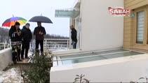 İstanbul'da akılalmaz olay...Gökten buz kütlesi yağdı