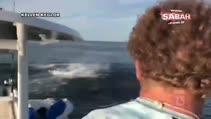 Balık avlamak için denize olta atan adam öyle bir şey yakaladı ki...