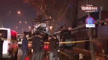 Kontrolden çıkan minibüs polis otosuna çarptı: 2'si polis 3 yaralı