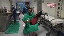 Ameliyatta şarkı söyledi çıkınca keman çaldı