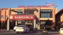 Erbil'de çukura düşerek yaralanan genç Cizre'de tedavi edildi
