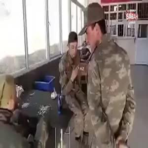 Askerler 'Mannequin challenge' akımına son noktayı böyle koydu!