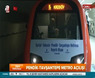 Cumhurbaşkanı Erdoğan'dan metroda ilk sürüş!