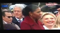 ABD bu anı konuşuyor: Hillary Clinton kocası Bill'i böyle yakaladı!