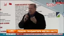 """Cumhurbaşkanı Erdoğan """"Dün akşam sabah namazına doğru Parlamento güzel bir cevap verdi"""""""