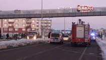 Kars'ta trafik kazasi 4 yarali