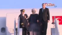 Cumhurbaşkanı Erdoğan, Tanzanya'nın başkenti Darüsselam'a geldi