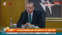 Cumhurbaşkanı Erdoğan Afrika ziyareti öncesi havalimanında konuştu