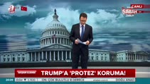 Donald Trump'a 'protez' koruma!