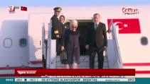 Erdoğan, Tanzanya'da Türk bayraklarıyla karşılandı