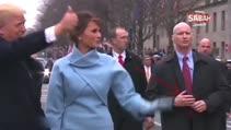 ABD Başkanı Donald Trump'ı koruyan gizli servis elemanından tüyler ürperten kol taktiği!