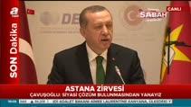 Cumhurbaşkanı Erdoğan: Yapıyoruz, olmaz diye bir şey yok