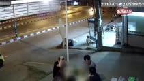 Korkunç motosiklet kazası kamerada