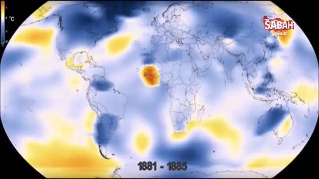 NASA'nın gözünden Dünya'nın 136 yıllık değişimi