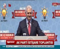 Başbakan Binali Yıldırım AK Parti Ana Kademe İlçe Başkanları İstişare ve Değerlendirme Toplantısı'nda konuştu