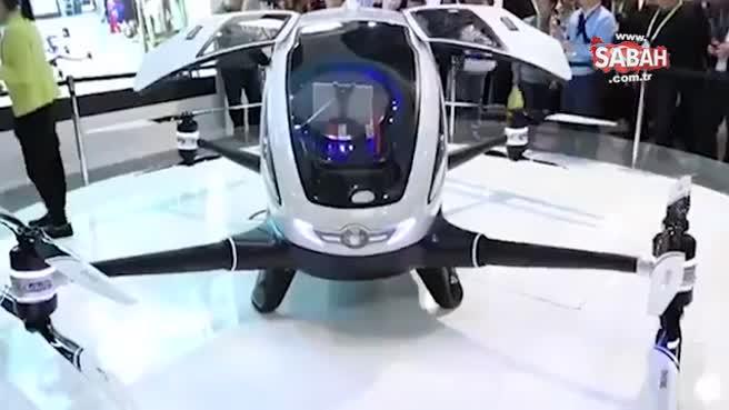 Dünyanın ilk insan taşıyabilen drone modeli