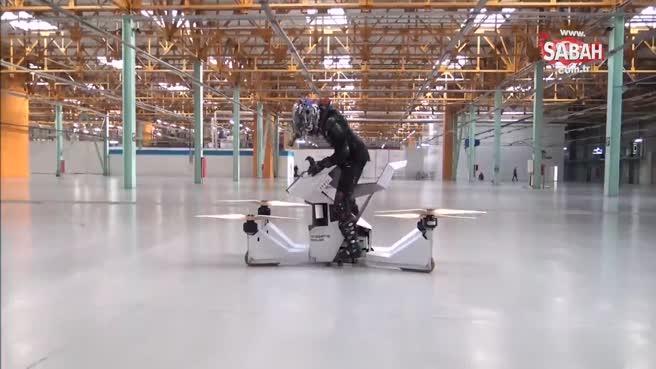 İşte dünyanın ilk uçan bisikleti