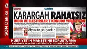 Hürriyet Gazetesi'nin o manşetine soruşturma!