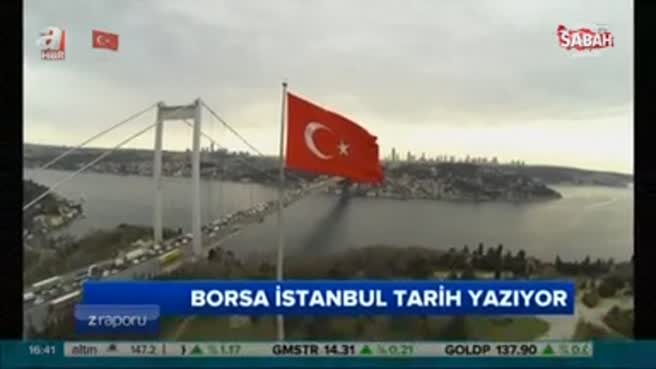 Borsa İstanbul tarih yazıyor