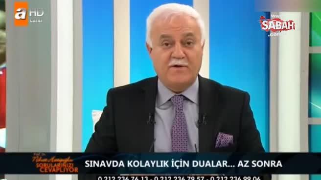 Prof. Dr. Nihat Hatipoğlu YGS öncesi okunacak duayı izleyicileriyle paylaştı!