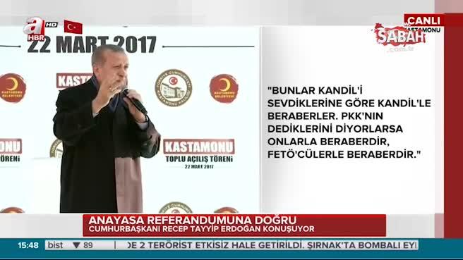 """Cumhurbaşkanı Erdoğan """"Elalem uzaya çıkarken siz darbeyle uğraşıyordunuz"""""""
