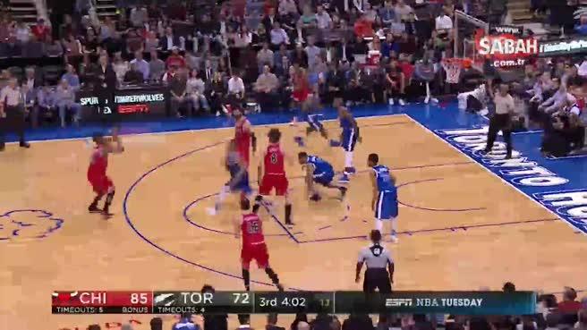 NBA maçında tekme tokat kavga çıktı!