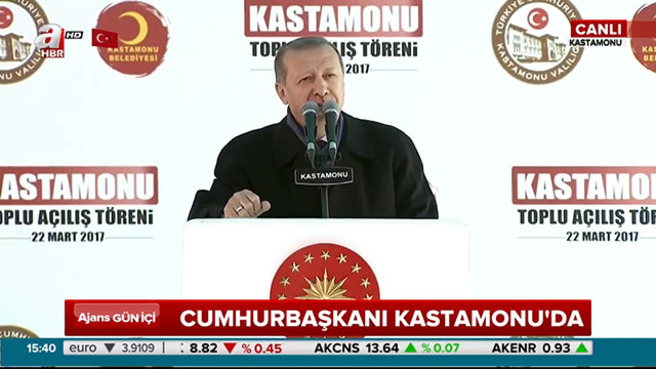 """Cumhurbaşkanı Erdoğan """"Deri kalın olunca yalanının büyüklüğü sorun olmuyor"""""""