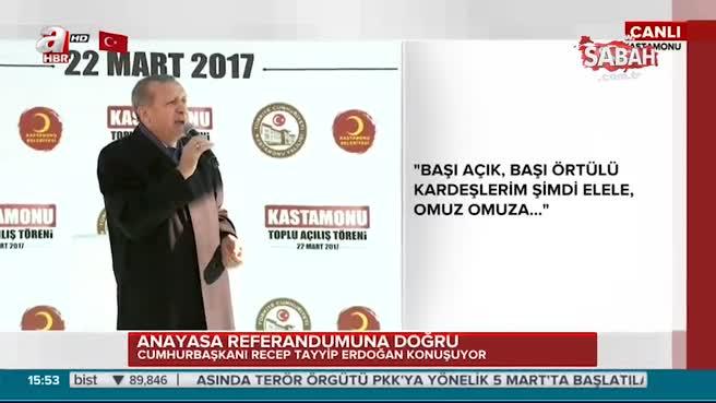 """Cumhurbaşkanı Erdoğan """"Zihin fukara olunca akıl ukala olurmuş"""""""