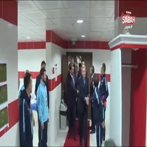 Erdoğan'dan Milli Takıma sürpriz ziyaret
