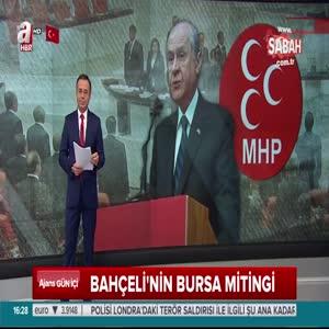 """MHP lideri Devlet Bahçeli """"Kılıçdaroğlu'nun kafası almıyor"""""""