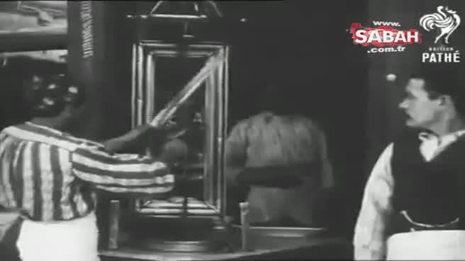 1920'lerde İstanbul'da çekilen dönerci videosu