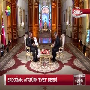 Cumhurbaşkanı Erdoğan: Ben aidat için ihraç edilmelerini hafif buluyorum